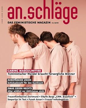 an.schläge feministisches Magazin, Caring Masculinity
